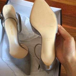 New Nine West suede leather heels