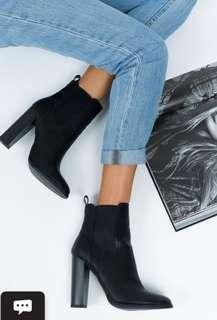 Lipstick Penni Ankle Boots