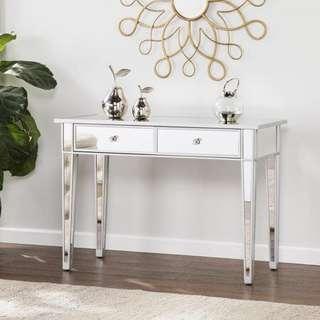 Boston Loft Furnishings Impression Mirrored Console Table