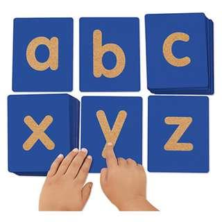 Lakeshore Tactile Letters - Lowercase