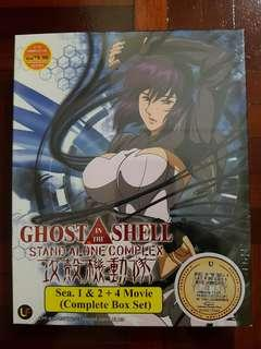 Ghost In The Shell : Stand Alone Complex S1-2 + 4 Movie