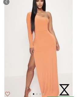 PLT side slit dress