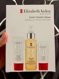 Brand New Elizabeth Arden Eight Hour Cream Set (Miracle Moisturizers)