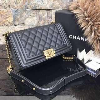 Chanel Le boy (gray)
