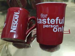 Nestle coffee mug set 2