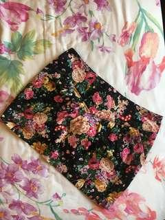 MNG FLORAL MINI SKIRT #EVERYTHING18