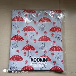 新地1096期 Moomin 姆明 側孭手挽袋 (多美款)