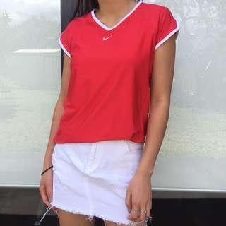 NIKE RED TOP