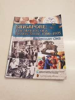 Secondary 1 (Sec1) History Textbook