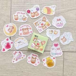 disney bujo stickers -45pc (A4)