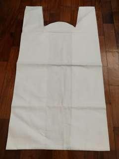 MAISON MARTIN MARGIELA White Cotton Fabric Tote