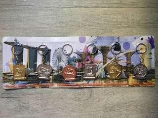 Singapore Souvenir Keychain