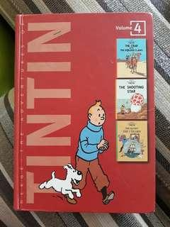 Tintin volumn 4 ( 3in 1 )
