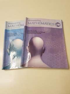 Secondary 2 (Sec 2) Mathematics Textbooks (2A and 2B)