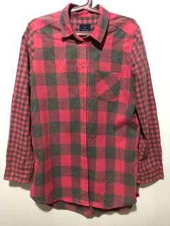 American Eagle Outfitters Vintage Checkered Long Sleeve Used Once