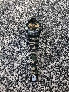 🚚 🐵🐵🐵💯% authentic and original CASIO G-Shock GA110 in Custom Bape Camo replacement strap , gshock , g-shock , GSHOCK , G-Shock , Casio , CASIO , Casio