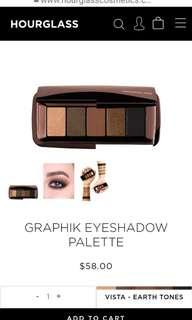 [PRE ORDER] Hourglass Graphik Eye Shadow Palette