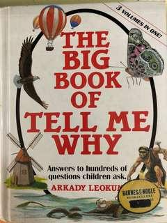 The Bog book of Tell me why