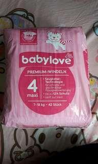德國babylove 尿片diapers + Penaten 濕紙巾