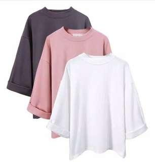 Allsize top pink (include ongkir)