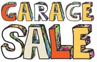 9 Dec Garage Sale - $1 and up