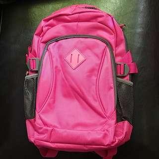 SMALL FUCHSIA PINK BACKPACK BAG