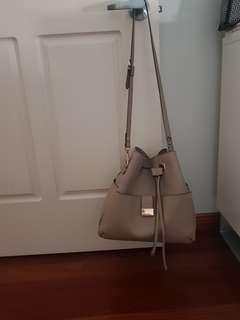 Brown Zara hobo bag