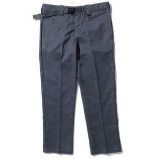 Remix x Dickies 873 pants carhartt aviation 鐵灰 工作褲 wing logo