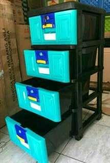 lemari plastik laci
