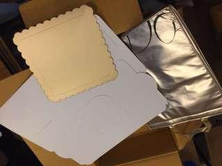 Cake bag thermal cooler bag