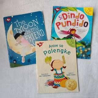 Set of 3 Adarna Books