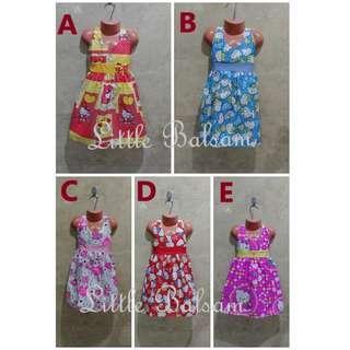 Assorted Baby Kid Dresses Bundle 12 Pieces