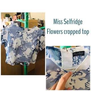 Flower Crop Miss Selfridge