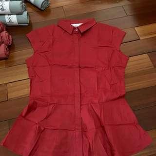 Zara shirt basic top