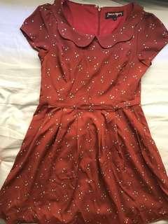 Princess highway burgundy dress