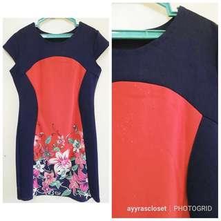 M size Floral Dress
