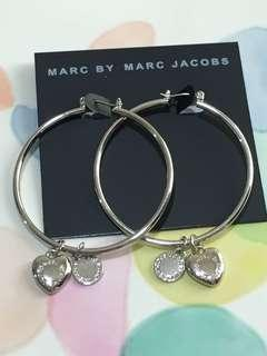 Marc by Marc Jacobs 吊心心耳環