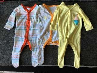 Mothercare Frogsuit 3-PC Set