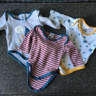 Kids and Co. Onesies 3-PC Set