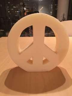 Urban Outfitters Peace Candle