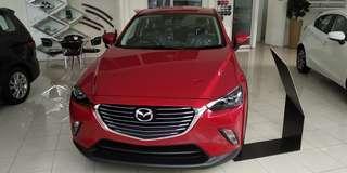 Mazda CX-3 Touring dan GT Paling murah! Bukan Civic bukan HRV bukan Crv bukan Yaris bukan Jazz bukan innova bukan Avanza Xenia Rush Terios