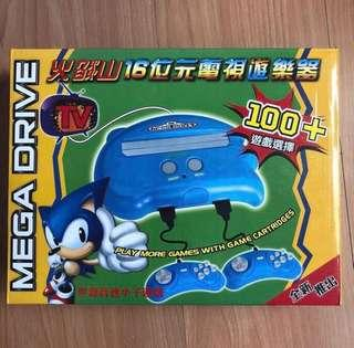 🚚 Firecore Sega Megadrive Firecore Console With built in games