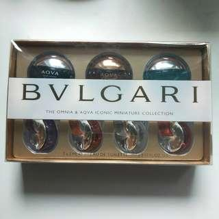 bvlgari the omnia & aqva iconic minature collection