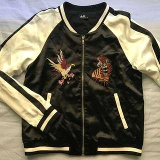 Japanese styled bomber jacket
