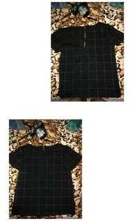 Dark blouse