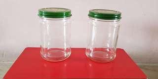🚚 Empty Round Glass Bottles