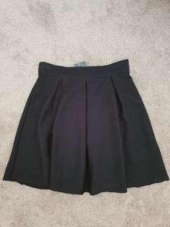 MISS SHOP Myer pleat textured skirt BNWT $30 Size 8