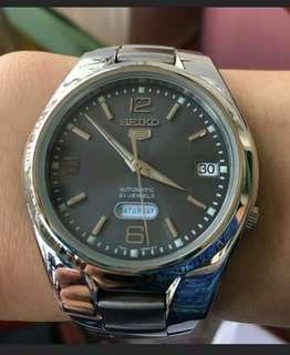 Seiko 5 Automatic Analog 21 Jewels Unisex Watch