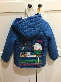 🚚 男童鋪棉外套買一送一100cm