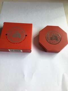 Spore 1998 Yr of Tiger $10 UNC Proof-like Coin